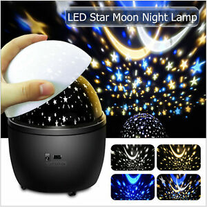 Star Moon Night Lamp LED Lighting Holiday Party Casual Home Garden Decorations