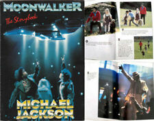 Michael Jackson Livre MOONWALKER Storybook First Edition British UK Book 1988