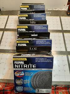 Lot of 6 Boxes 3 Pads ea. Fluval Nitrite FX4/FX5/FX6