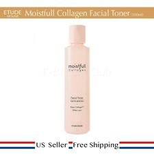 Etude House Moistfull Collagen Facial Toner 200ml + Free Sample [ US Seller ]
