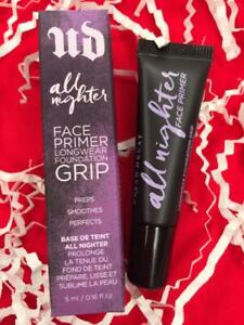 URBAN DECAY All Nighter Face Primer .16oz Travel Size - NEW in Box, FREE SHIP!