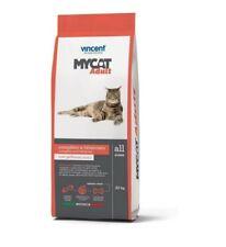 Crocchette Gatti Vincent Mycat Adult 20 kg con pollo (gatto sterilizzato e non)