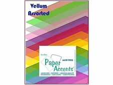 Accent Design Paper Accents ADP8511.1015 Paper Variety Pack Assorted Vellum