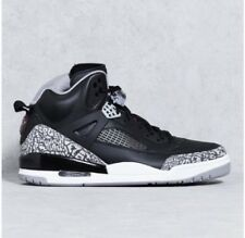 Nike Air Jordan Spizike OG Black Cement Grey White Red 3 4 5 X 315371-034 Sz 10