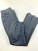 "Elie Tahari Dark Wash Straight Leg High Rise Jeans Size 6 28x30"""