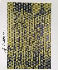 ROY LICHTENSTEIN HAND SIGNED SIGNATURE * ROUEN CATHEDRAL V *  PRINT W/ C.O.A.