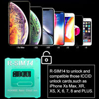 AU Unlock Card RSIM14 12 R-SIM Nano for iPhone XS MAX/XR/XS/8/7/6 4G iOS 12 11