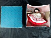 "Madame Alexander 8"" International Collectible Doll Russia With Original Box"