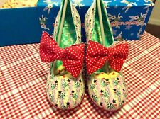 Irregular Choice Tea & Cake 41 (UK 7.5) Brand New Very Rare