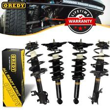 OREDY Front & Rear 4x Complete Struts Assembly Shocks For Nissan Sentra 00-2001
