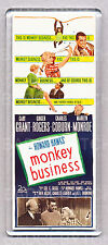 MONKEY BUSINESS movie poster LARGE 'WIDE' FRIDGE MAGNET - MARILYN MONROE