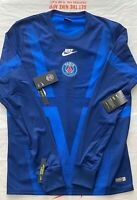 NIKE AUTHENTIC PARIS MENS FOOTBALL PRE-MATCH SHIRT (2019/2020) NEW WITH TAGS L