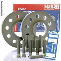 Distanzscheiben H/&R DRM Spurverbreiterung 50//60mm Set Ford Fiesta Typ JH1//JD3