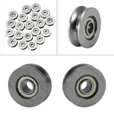 10PCS 3*12*4mm Skateboard Bearing Miniature Bearing V-groove bearings V623ZZ