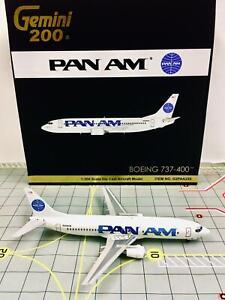 Gemini Jets 1:200 G2PAA255 Pan Am Boeing 737-400 Billboard Livery N406KW