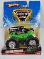 Hot Wheels Monster Jam Grave Digger 2/75 2008  - New, G1