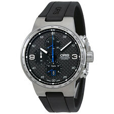 Oris Williams Chronograph Automatic Black Dial Mens Watch 774-7717-4164RS