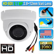 LEXA HD SDI 2.1MP SONY 1080P CCTV Camera Wide 2.8-12mm Dome White Color Starvis