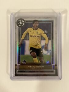 2020-21 Topps Museum Soccer Jude Bellingham Rookie Card RC Borussia Dortmund