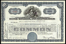 New listing Common Stock. Bond Stores, Incoprporated. Jan. 13 1948