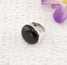 Markenlose Unisex Echtschmuck mit Onyx Ringe