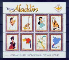 guyana /disney^s aladdin characters s/s /very nice