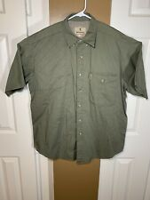 BROWNING Outdoor Green Shooting Hunting Sport Vented S/S Shirt Reactar Size XL