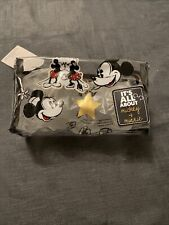 disney mickey mouse Makeup Bag / Oversized Pencil Case. Bnwt Clear