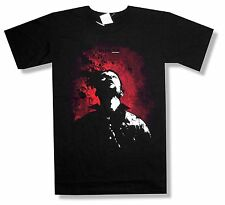 """WALKING DEAD """"SHOT TO HELL"""" BLACK T-SHIRT TV ZOMBIES NEW OFFICIAL ADULT 2XL"""