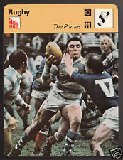 THE PUMAS Argentina Rugby vs France Photo 1979 SPORTSCASTER CARD 103-17