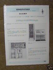 AEROSPATIALE: doc n° 102: Banc de contrôle EXOCET SCAMP