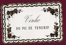 ETIQUETTE DE VIN - EUROPE - Vinho do Pic de Tenerif