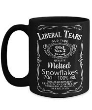 Liberal Tears Black 11oz. Mug - Deplorables Drink Of Choice