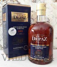 Rhum_DEPAZ_HORS D'AGE_MILLESIME_2002_Martinique_AOC_70cl_45°_à_66_euro