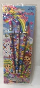 Lisa Frank 3 Mechanical Pencils - 1 with flaw Please Read