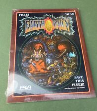 FASA EarthDawn Flyer 2 of 3 - GC New shrink wrapped