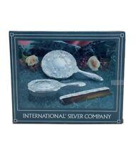 International Silver Company No. 99117931 Set 3 Pieces, Mirror, Brush, Comb, New