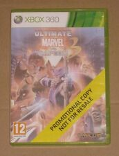Ultimate Marvel vs Capcom 3 Promotional Promo Copy Xbox 360 - Very Rare PAL