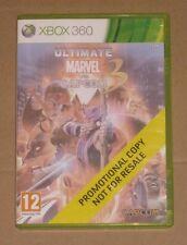 Ultimate MARVEL VS CAPCOM 3 Copia Promozionale Promo XBOX 360-MOLTO RARO PAL