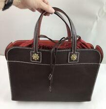 Zurich En Soie Custom Brown Leather Purse