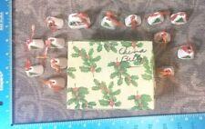 Vintage Mini Bells Potteries Cleveland Ohio Ornament Japan Christmas 1956 93B