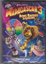 Madagascar 3 - Bons baisers d'Europe - DVD neuf sous blister - 15/01
