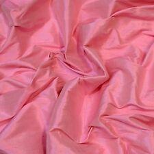 "Iridescent Cherry Blossom Dupioni 100% Silk Fabric 54"" Wide, By The Yard (S-270)"