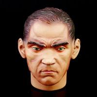 Dragon 1/6 figure soldier story asian Men army custom resin doll head sculpt