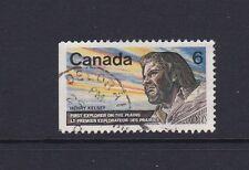 Canada 1970 Henry Kelsey Explorer commem used SG 654 cds Deloraine Manitoba