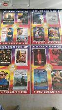 LOTE DE 16 PELICULAS DE CULTO EN 8 DVD UNICO EBAY!!!
