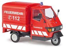 """Busch 60055 Piaggio Ape 50 """"Feuerwehr"""", Spur 0, 1:43"""