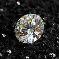 9mm H Color Brilliant White Diamond 2.75cts Round Shape Loose VVS1 Clarity