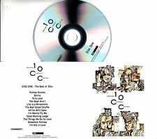 10CC Before During After 2017 UK promo test 4xCD set: low number + press release