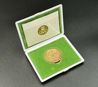 Commemorative table medal TOKYO 1964 XVIII Summer OLYMPIC GAMES in original box